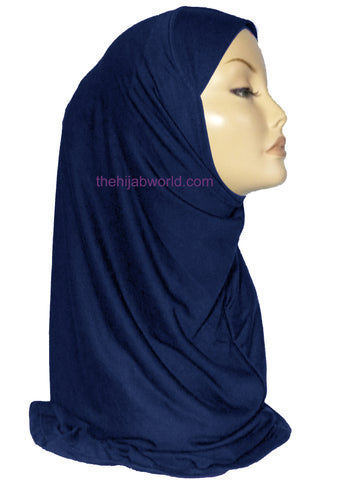 AL AMIRA HIJAB 1 PC. - NAVY