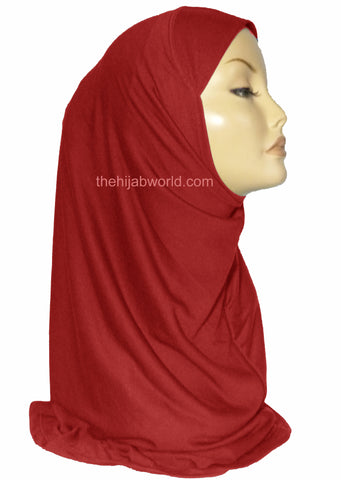 AL AMIRA HIJAB 1 PC. - RED