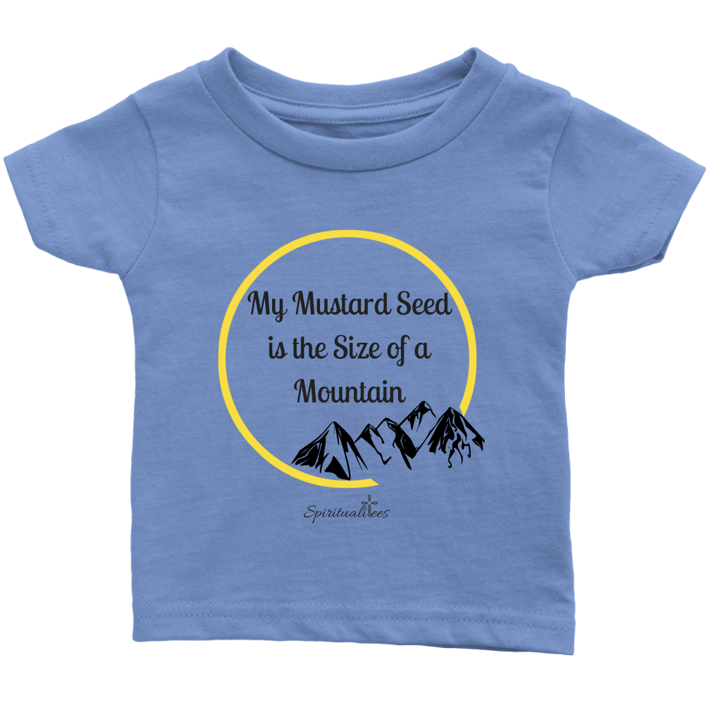 My Mustard Seed Infant T-Shirt [Black]