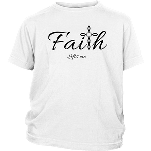 Faith Youth T-Shirt - Lifts Me [Black]