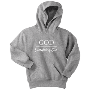 God Over Everything Else Youth Hoodie