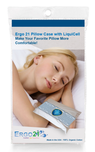 Ergo21 Pillow Case with Liquicell