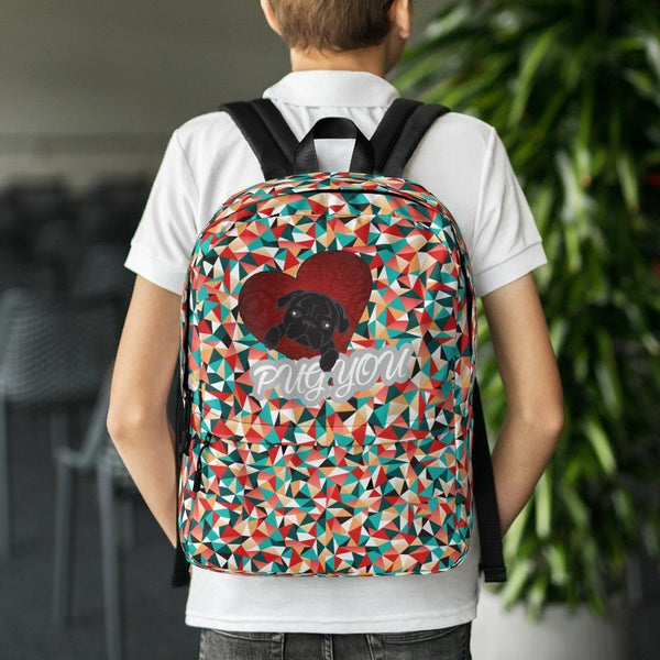 BLACK PUG you ~ Backpack Accessories PUGYOU