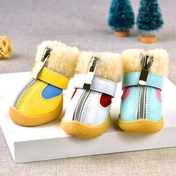 Colorful Dog Boots for Winter Dog apparel PUGYOU