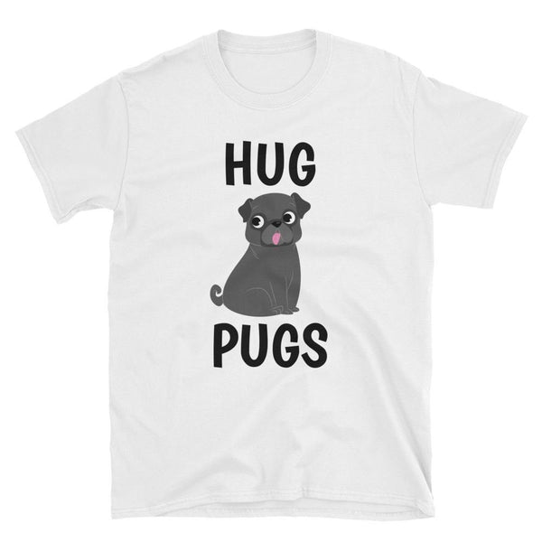 Hug Pugs ~ Short-Sleeve Unisex T-Shirt Clothes PUGYOU