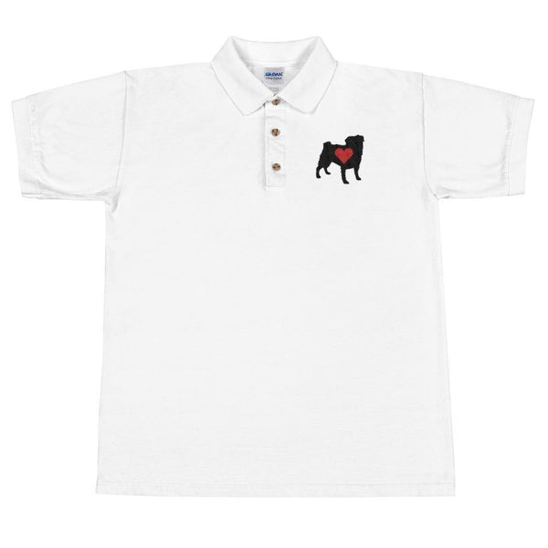 I Pug You  ~ Embroidered Polo Shirt Clothes PUGYOU