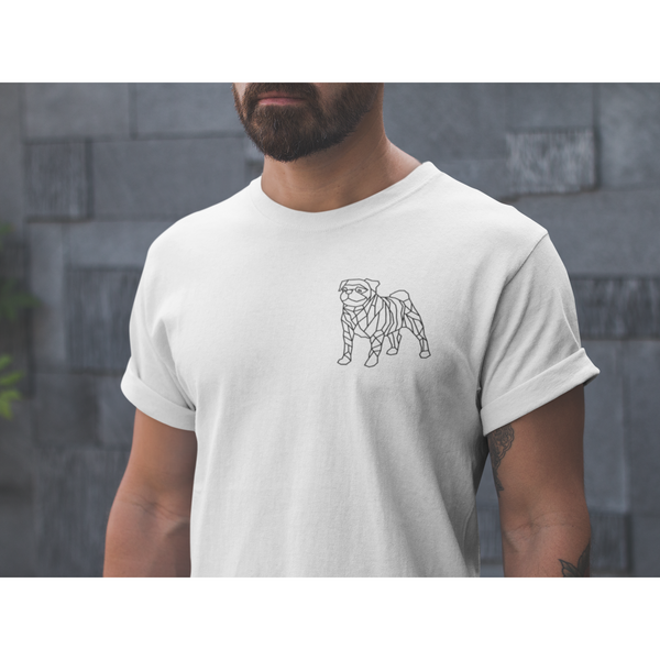 Modern Pugger ~ Short-Sleeve Unisex T-Shirt Clothes PUGYOU