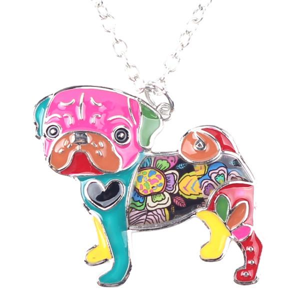 Pug Dog Pendant ~ Necklace Accessories PUGYOU