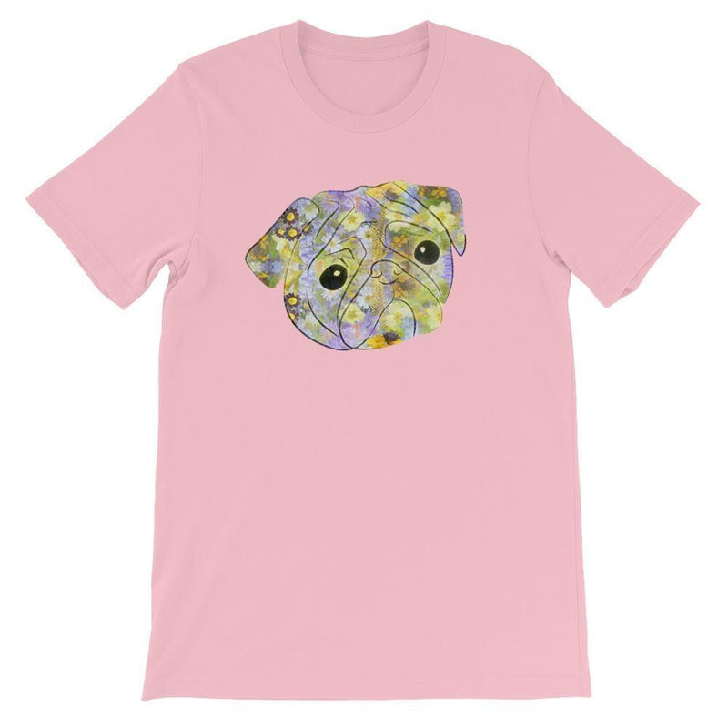 Pug's Blossom ~ Short-Sleeve Unisex T-Shirt Clothes PUGYOU