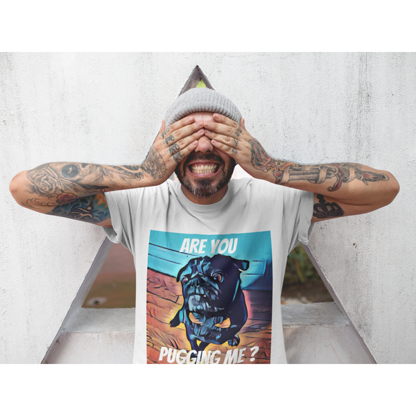 Pugs cubism ~ Short-Sleeve Unisex T-Shirt-Clothes-Pug You