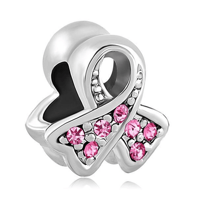 Yoga Supreme™ Pink Ribbon Charm