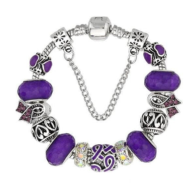 Lavender Murano Glass Bracelet™ - 50% OFF
