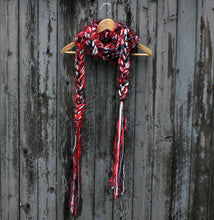 Load image into Gallery viewer, Braided Lariat Scarf - HoHoHo