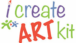 i Create Art Kit - Monthly Art Box Subscription For Kids