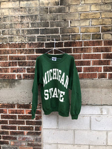 Michigan State Crewneck Large
