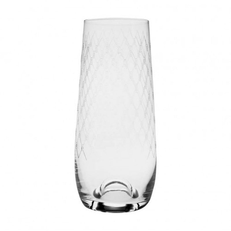 Francalia Stemless Fishnet Champagne Glasses