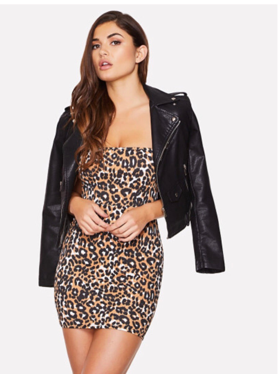 Leopard DRESS - RoyalRaine