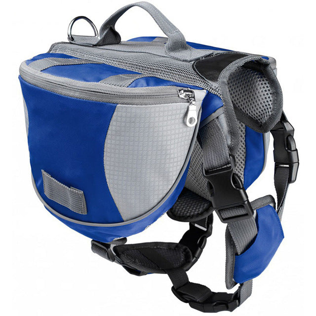 Saddle Backpack Harness | 4 Colors | Medium to Large Dogs - Playful Pooch Boutique - Online Dog Pet Store