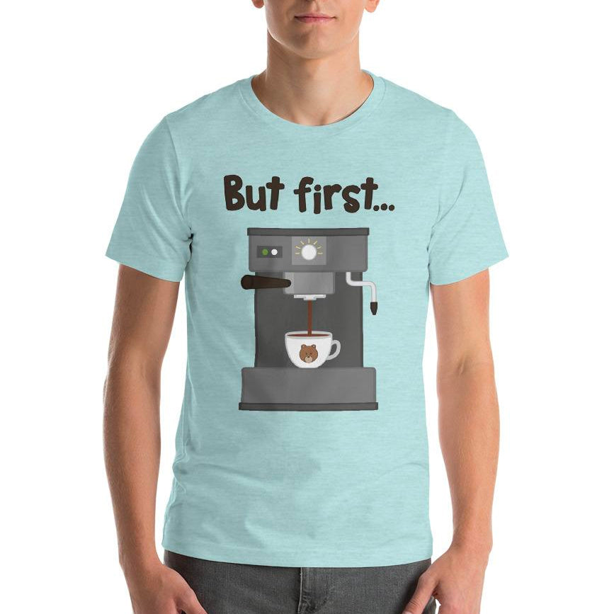 Men's Printed Coffee T-Shirt