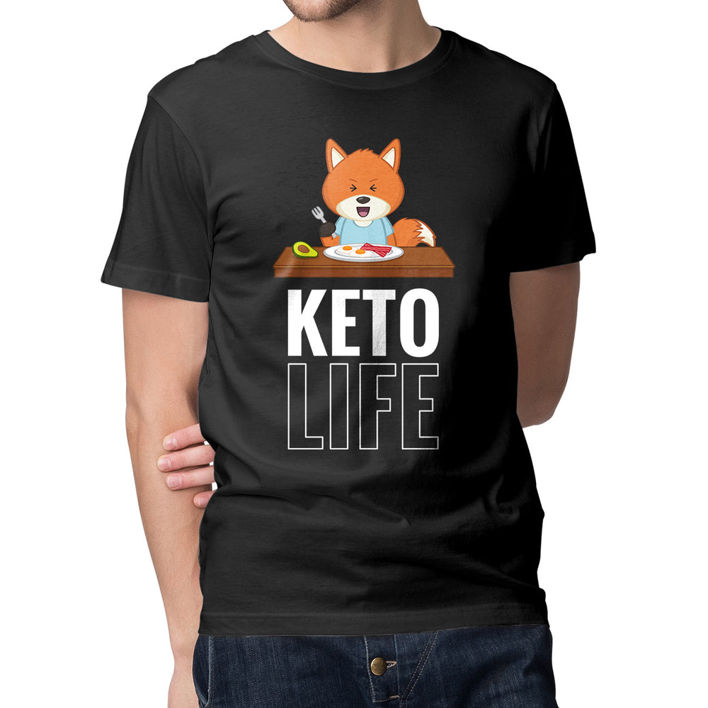 Men's Printed Keto Life T-Shirt