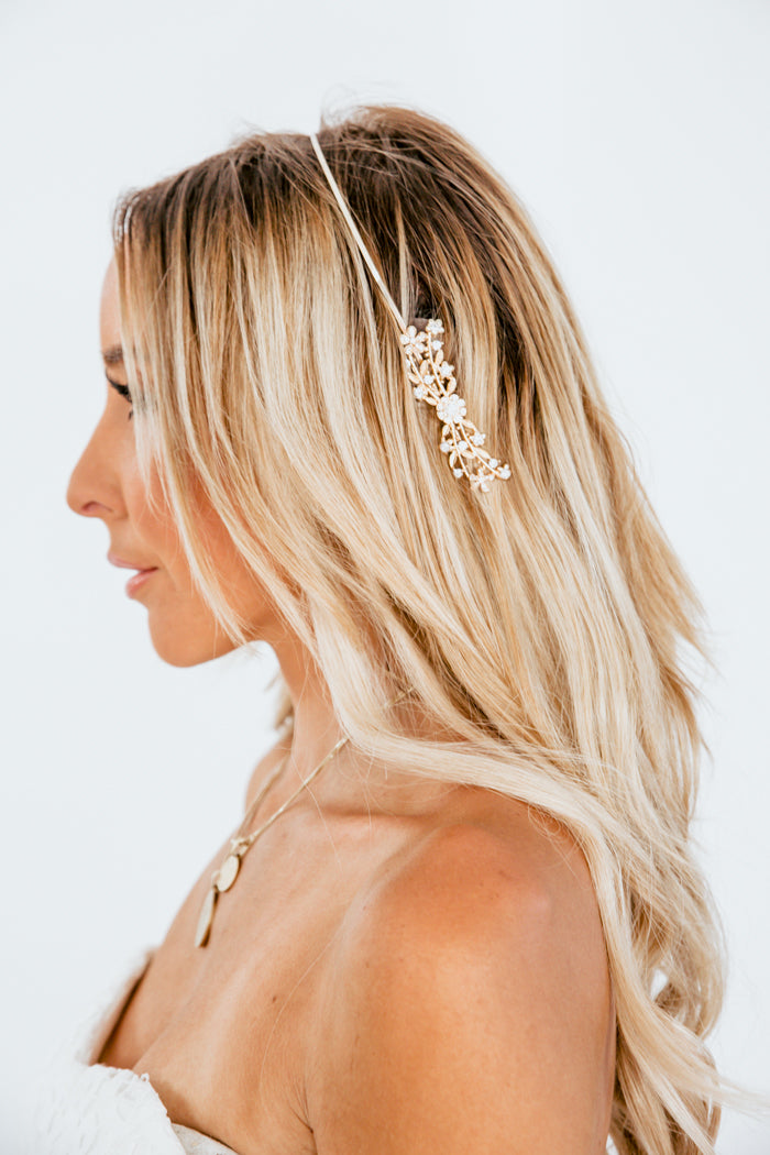 Jiah Gold Head Piece