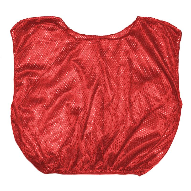 Vest Youth Practice Scrimmage Red 12 Count