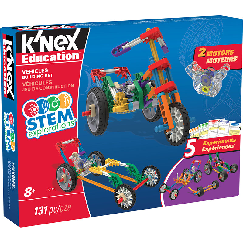 Knex Stem Vehicles Building Set