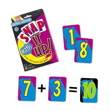 Snap It Up Addition-subtraction Gr 1 & Up