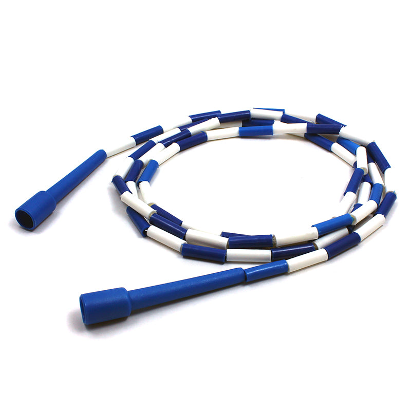 (6 Ea) Jump Rope Plastic Segmented 9ft