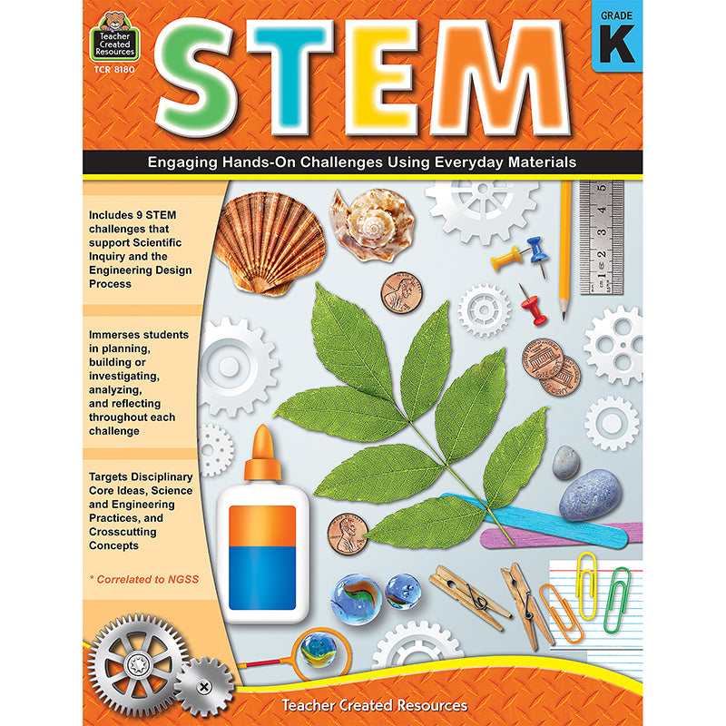 Stem Engaging Handson Challenges Using Everyday Materials Gr K