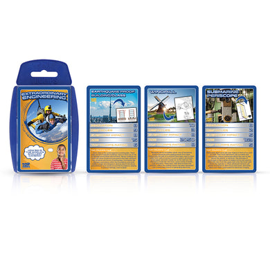 Extraordinary Engineering Top Trumps Card Game