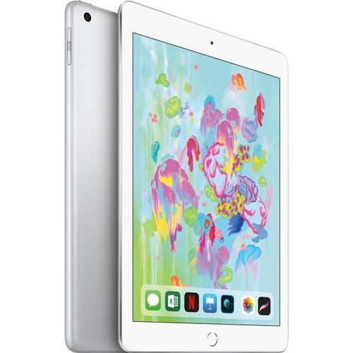 "Apple 9.7"" iPad ( Early 2018, 128GB, Wi-Fi Only, Silver )"