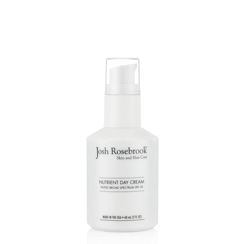 Josh Rosebrook Tinted Nutrient Day Cream with SPF 30 - 2 oz