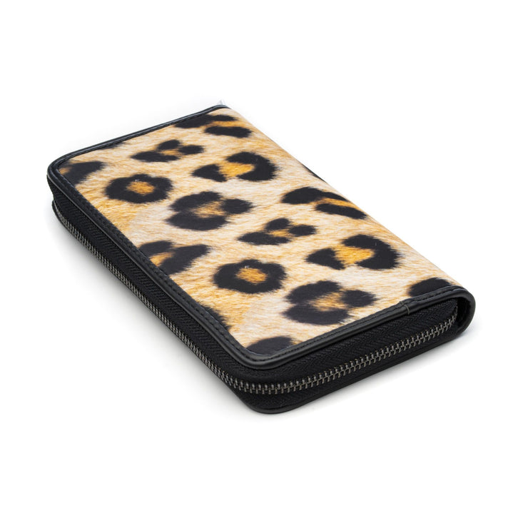 Save My Bag Pouch-Wallet Printed Leopard laid down
