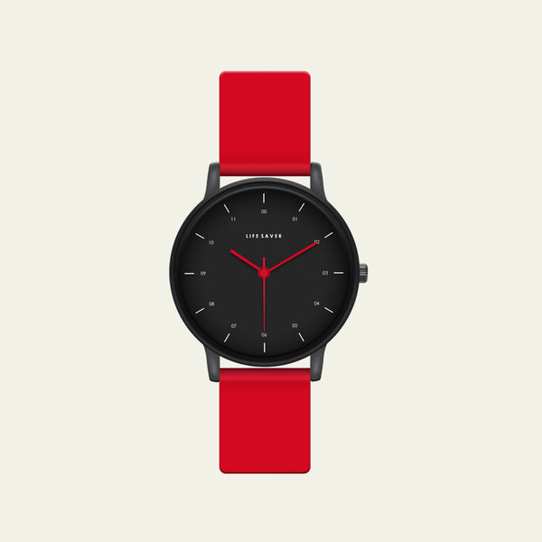 LIFE SAVER WATCH 3.0 - RED (SMALL)