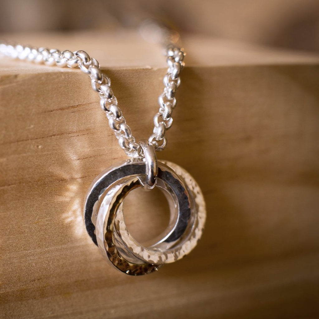"""Oasis Square"" Helix Necklace"