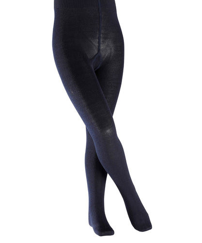 Navy Tights Cotton Touch