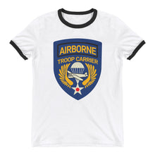 Load image into Gallery viewer, Airborne Troop Carrier Ringer T-Shirt