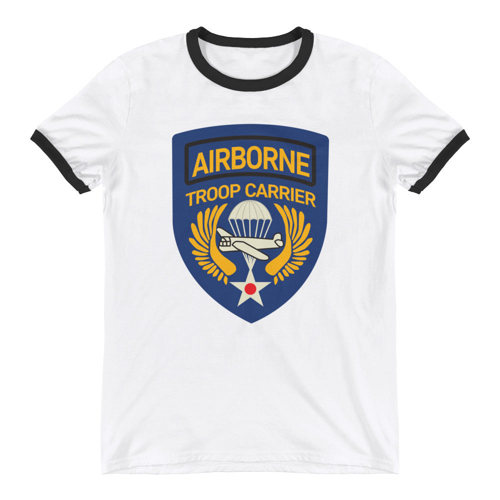 Airborne Troop Carrier Ringer T-Shirt