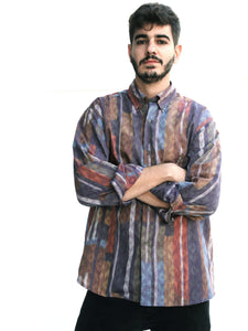 Mr. Contemporary Vintage Printed Shirt for Men Front