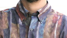 Mr. Contemporary Vintage Printed Shirt for Men Collar