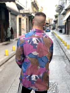 Mr. Bright Vintage Printed Shirt for Men Back