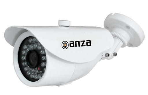 "Bullet Camera 4 in 1 HD 720p AHD/CVI/TVI and CVBS 800TVL IP66 Outdoor/Indoor Megapixel High Definition 1/4"" 3.6mm Lens Day/Night 24 LED"