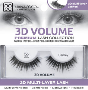 3D Volume Lashes – Paisley
