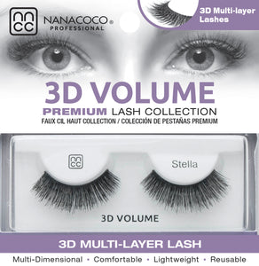 3D Volume Lashes – Stella