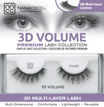 Load image into Gallery viewer, 3D Volume Lashes – Violet