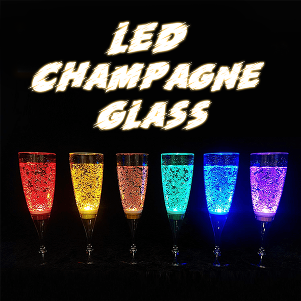 (Save $10)LED Champagne Glass