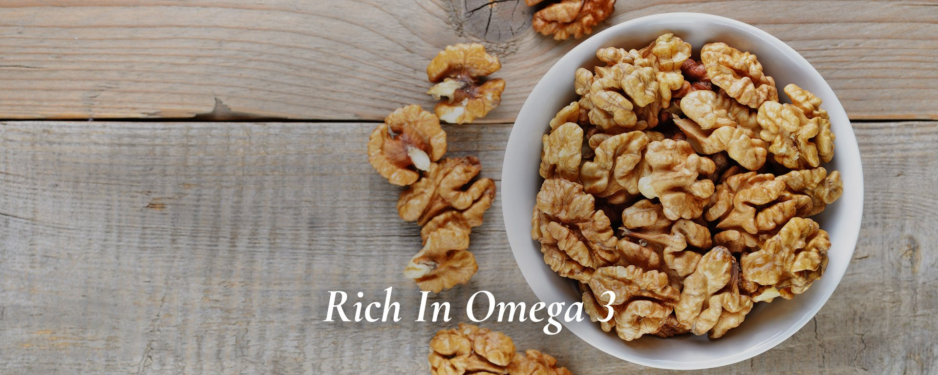 Rich in omega 3, walnuts have immense benefits for our brain.