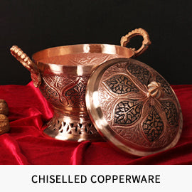 Tradition and health inspired copper ware