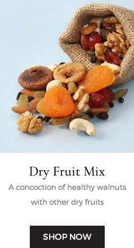 A concoction of dry fruits